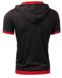 NinjApparel - Summer Assassin Grey w/Red Trim Back