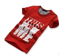 NinjApparel - Self Expressive Tee Red BIrd's Eye View
