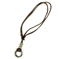NinjApparel - Vintage Leather Necklace - Loop - Cover Photo
