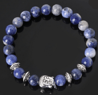NinjApparel - Zen Bracelet - Blue Stripes