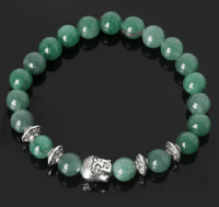 NinjApparel - Zen Bracelet - Green Adventurine