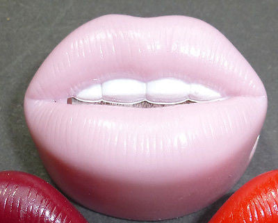 1970s Hot Lips Pencil Sharpener- Unused Old Shop Stock