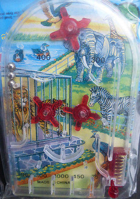 1970s Pinball Games Space, Football, Basketball, Red Baron, Zoo