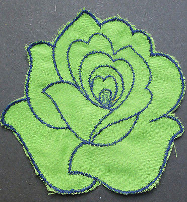 1970s Fabric Patches - 16 different