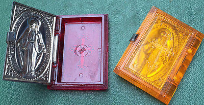 Essential 1940s Saint Bible Containers - 3cm - GERMANY US ZONE - Choice of Designs and colours