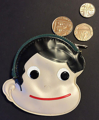 Wonderfully Kitsch 1960s Face Purse
