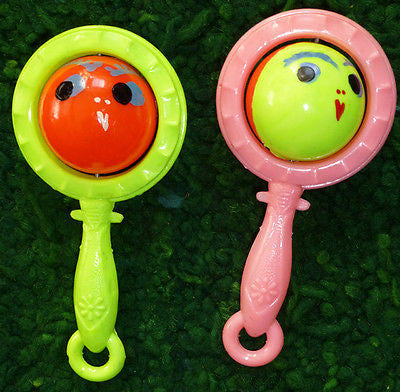 Vintage 2 Faced Rattle Entirely Unnecessary but Rather Compelling