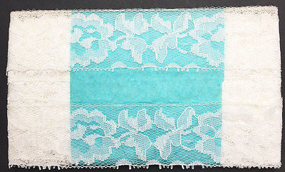 10 Yds Pretty Vintage Flowery Lace Trim 4cm wide