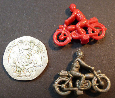 10  VINTAGE 2cm Motorbikes - Charmingly Realistic