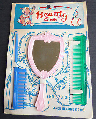1950s BEAUTY SET with Glorious Mirror