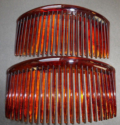 "2 BIG 5"" Vintage Hair Combs.. Very Effective..."