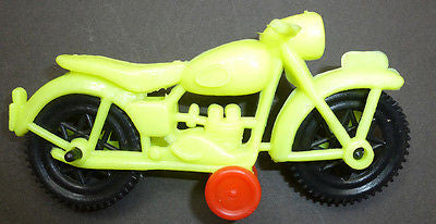 1980s Toy Motorbike 12cm Lovely Mover...With Stabilisers !