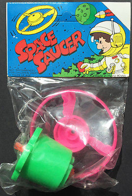 Unopened 1980s SPACE SAUCER  Flying Saucer - Excellent Fun...