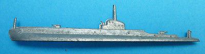 WW11 CRESCENT Made in England 8.5cm Submarine Model- Strategy planning
