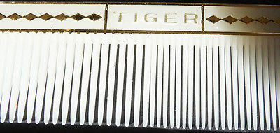 For the Beast in Your Life - A Vintage  TIGER Comb....