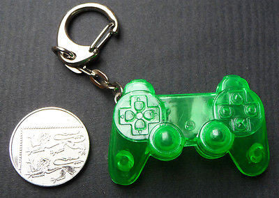 1990s PlayStation Keyring - OLD SHOP STOCK - Choice of 5 Colours