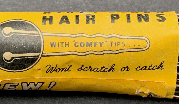 NEW ! 1940s Kirby COMFY TIP HAIR PINS Made in England