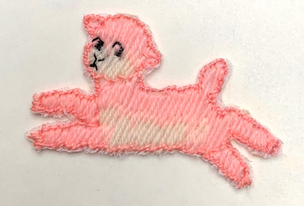 Frollicking Lambs 4cm Vintage Appliques - Choice of colours