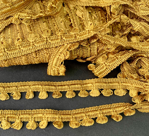 Caramel Gold 2cm wide Vintage Trim
