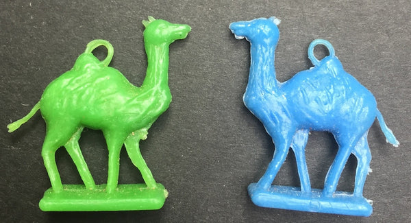 Vintage Camel Charms - 2 of them - 2.5cm tall