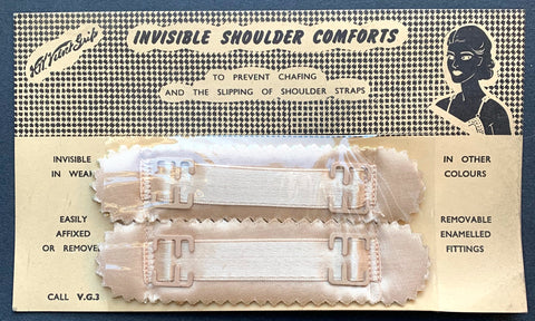 1940s INVISIBLE SHOULDER COMFORTS
