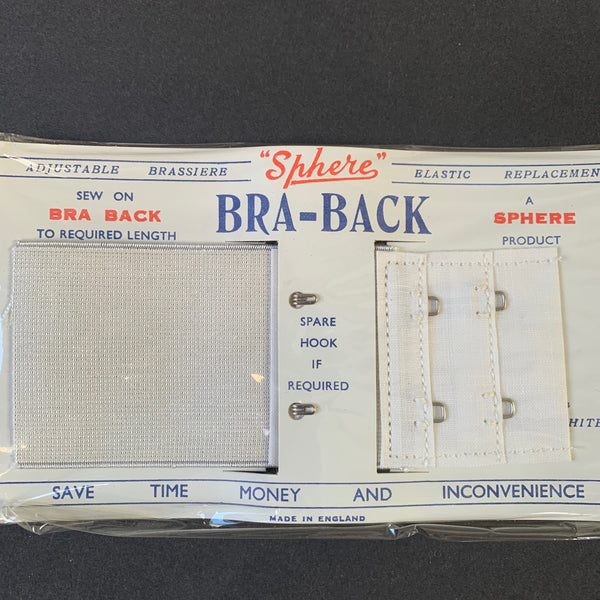 1940s 5cm Wide Bra Back Elastic Replacement