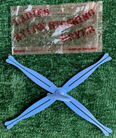 Essential 1950s Fold Flat LADIES NYLON STOCKING DRYER