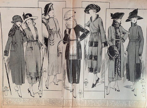 WW1 - October 1918 edition of French Womans Paper La Revue de Madam
