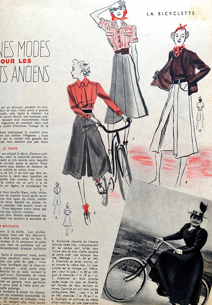 June 1937  Issue No 14 of French MARIE CLAIRE