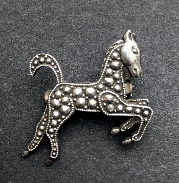 Joyous Little Vintage Pony Brooch