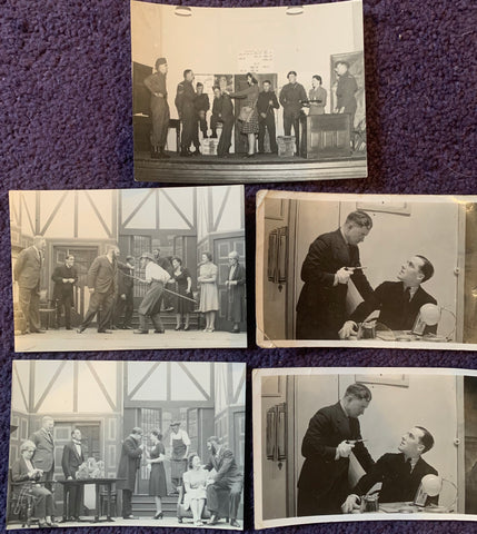 5 1930s/40s Photos of Theatrical  Performances (A6)