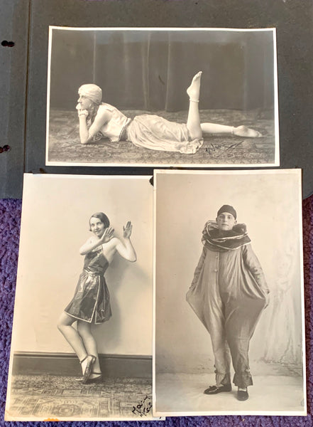 3 1920s Photos of People Dressed Up (A9)