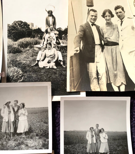 17 Photos from the 1920s - of Days Out with Friends (A14)