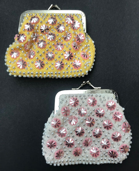 Glorious 1960s Sparkly Star Purse