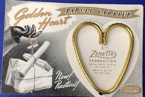New ! Practical ! Golden Heart PARCEL CARRIER