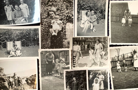 16 photos of Mothers and Children from the 1920s and 30s(A24)