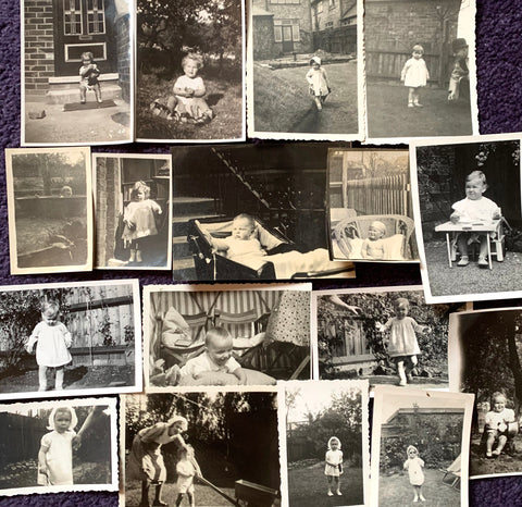 17 photos from the 1920s - 1940s of Babies and Toddlers ( A31)