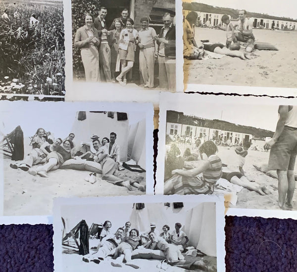 13 Photos taken in 1934/5  of Friends on Days Out (A48)