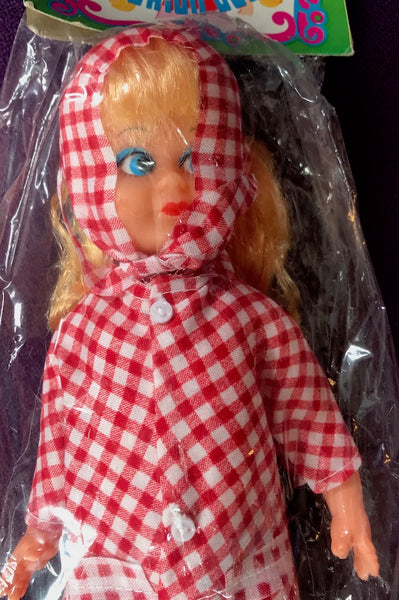 "Wonderful 1970s 11"" Dolls in Raincoats"
