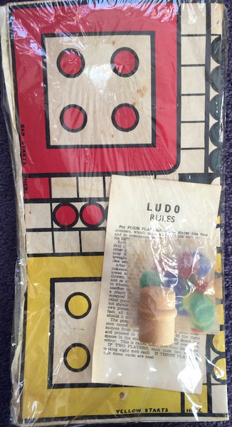 Vintage Unused LUDO Game