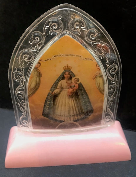 Vintage 8cm Tall Holy Picture - Choice of 3