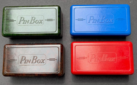 Most Satisfying Deco Bakelite Pin Box Made in England