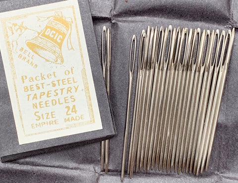 25 Best Steel 4cm Empire Made Size 24 Tapestry Needles