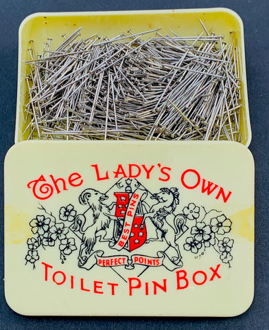 Rather Fetching.. The Lady's Own Toilet Pin Box
