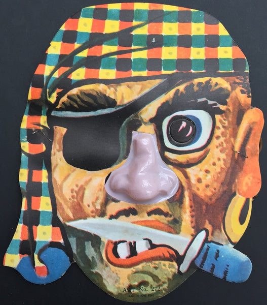 Grotesque Vintage Masks with Plastic Noses...