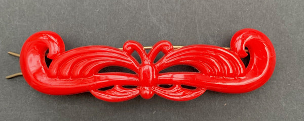 1950s USA made Barrettes - 10cm long - Choice of Colours...