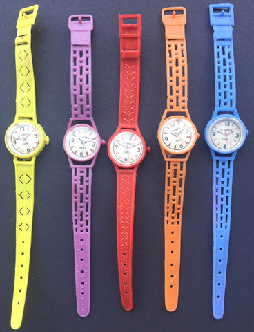 Bright Vintage Plastic Toy Watch