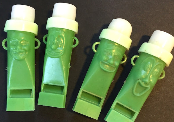 Bizarrely Wonderful Happy Face Vintage Whistles ...