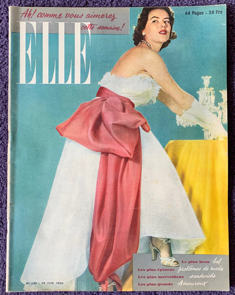 June 1950 issue of French ELLE