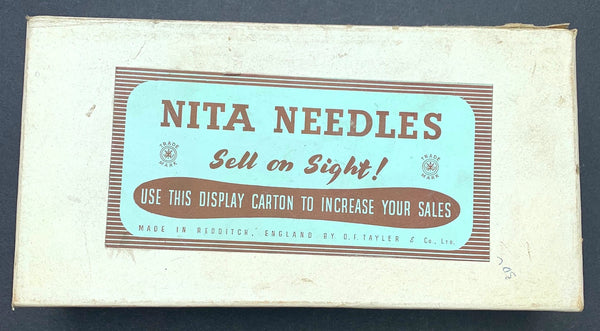 Wonderful 1940s Needle Delivery System..